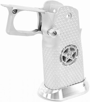 Silver alloy Hi-Capa Grip with