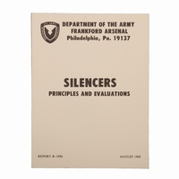 Technical U.S. ARMY Silencers book