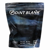 1KG Resealable bag Point Blank BB's 0,30gr