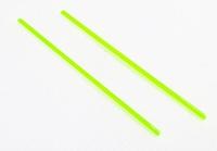 UAC Fiber optic rod 2 X 56mm, 2.0mm Green