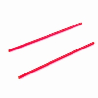 UAC Fiber optic rod 2 X 56mm, 2.0mm Red