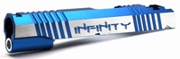 Hi Capa 5.1 Alloy Slide SV INFINITY cyberscript 2Tone Blue