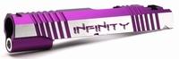 Hi Capa 5.1 Alloy Slide SV INFINITY cyberscript 2Tone Purple