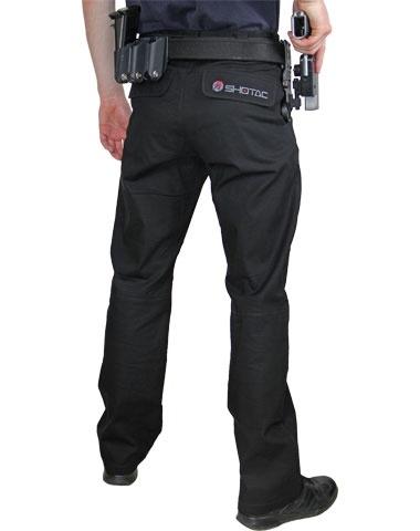 Double Trousers Alpha Academy Black Shotac OPukZXi