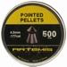 Airgun pellets Artemis Pointed 4.5 mm 7.5 grain