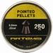 Airgun pellets Artemis Artemis Pointed 5.5 mm 13.8 grain